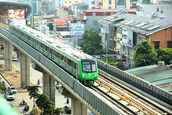 đường sắt Cát Linh- Hà Đông,đường sắt đô thị,Chủ tịch Hà Nội,Nguyễn Đức Chung