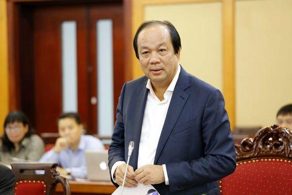 Bộ trưởng Mai Tiến Dũng