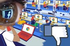 Google thu thập dữ liệu người dùng, Facebook bí mật kích hoạt camera iPhone