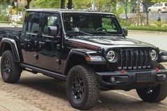 Ngắm bán tải siêu độc Jeep Gladiator tại Việt Nam