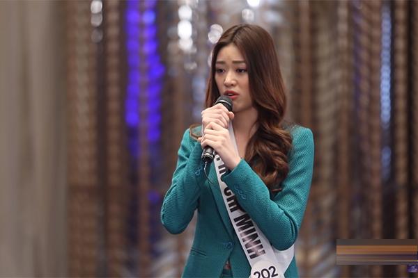 Thuý Vân liên tục dẫn đầu ở Hoa hậu Hoàn vũ Việt Nam 2019