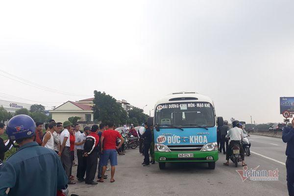 Tài xế xe buýt ở Hải Dương tử vong trên ghế lái