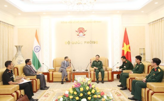 Vietnam, India enhance defence ties