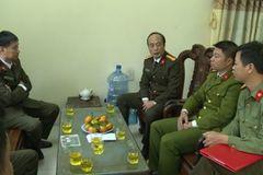 Phó công an phường ở Thái Bình bị con nghiện dùng dao lam cắt vào tay