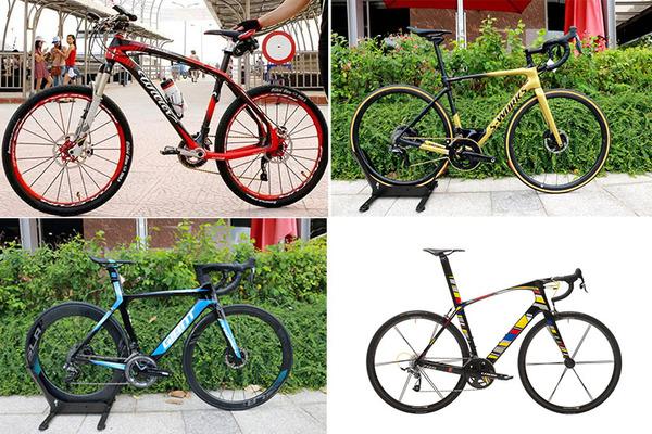 Xe đạp trăm triệu, sang chảnh không dành cho đại gia Việt