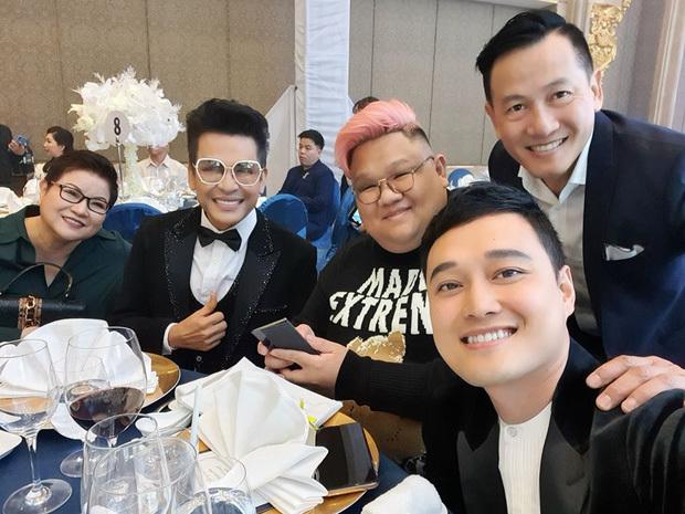 Ngô Kiến Huy, Quang Vinh tươi tắn dự đám cưới Bảo Thy với chồng đại gia