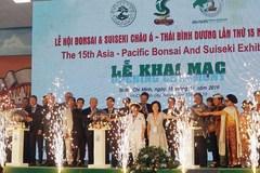 Vietnam hosts Asia-Pacific Bonsai-Suiseki Festival