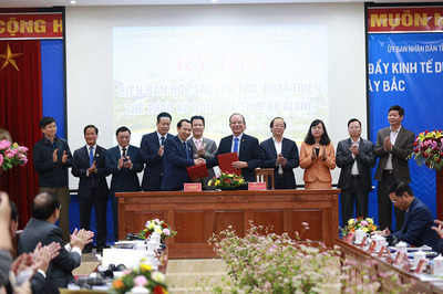 Bầu Hiển đầu tư cho bóng đá Hà Giang