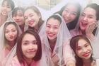 Á hậu Hoàng Oanh cùng hội chị em mở tiệc chia tay đời độc thân