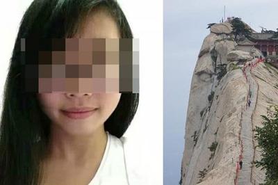 Selfie trên vách núi, nữ sinh ngã tử vong