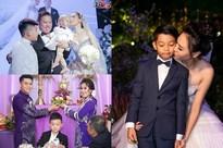 Khoảnh khắc hạnh phúc nhất trong đám cưới sao Việt: Con anh - con em - con chúng ta