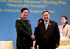 Defence Minister meets Thai Deputy PM, Indonesian counterpart