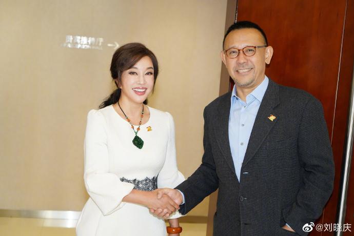 Thái độ bất ngờ của Lưu Hiểu Khánh khi gặp lại tình cũ sau 25 năm