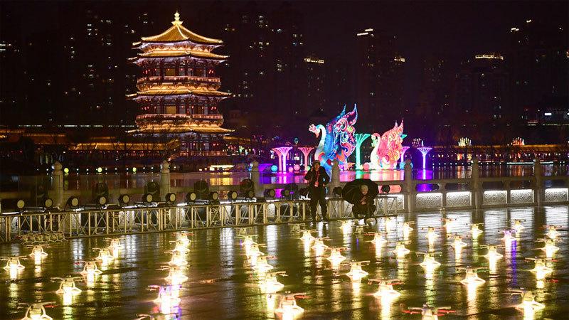 Trung Quốc,thiết bị bay không người lái,trình diễn,bầu trời,triển lãm hàng không