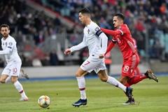 Luxembourg 0-1 Bồ Đào Nha: Ronaldo vô duyên (H2)