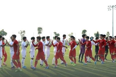 U22 Việt Nam hoà Myanmar trước ngày đi SEA Games