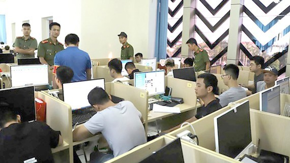 foreign crimes,cybercrimes,local service providers,unauthorized Chinese laborers,Nha Trang City