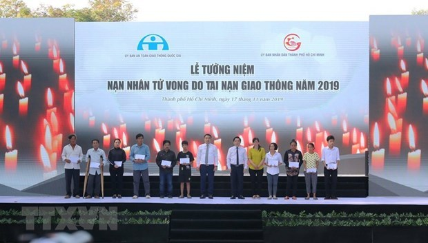 National Traffic Safety Committee,Ho Chi Minh City Peoples Committee,annual  requiem,traffic accident victims