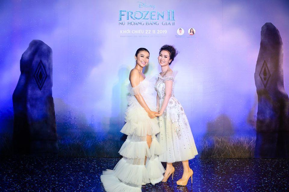 Tiêu Châu Như Quỳnh,Võ Hạ Trâm,Frozen,Frozen 2,Nữ hoàng băng giá