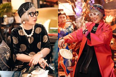 Tạo hình 'khó đỡ' của NSND Hồng Vân trong vai mẹ chồng NSND Lê Khanh