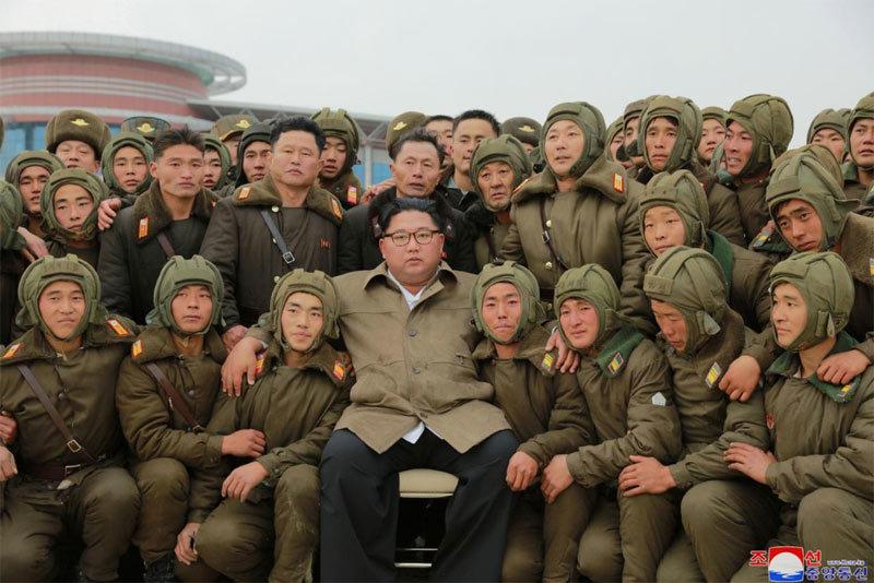 Triều Tiên,Kim Jong Un,tập trận,Mỹ,Donald Trump,chiến đấu trên không
