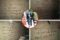 Ám ảnh những dòng chữ nghuệch ngoạc kín tường nhà của người chồng trước khi cùng 2 con treo cổ tự tử
