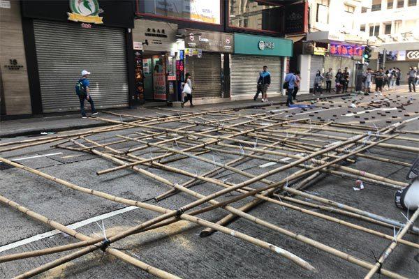 Biểu tình bùng phát ở Hong Kong