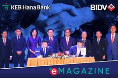 Ngân hàng Hàn Quốc trở thành cổ đông chiến lược nước ngoài của BIDV