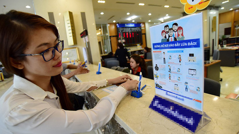 VN central bank proposes account freezes to tackle fraud