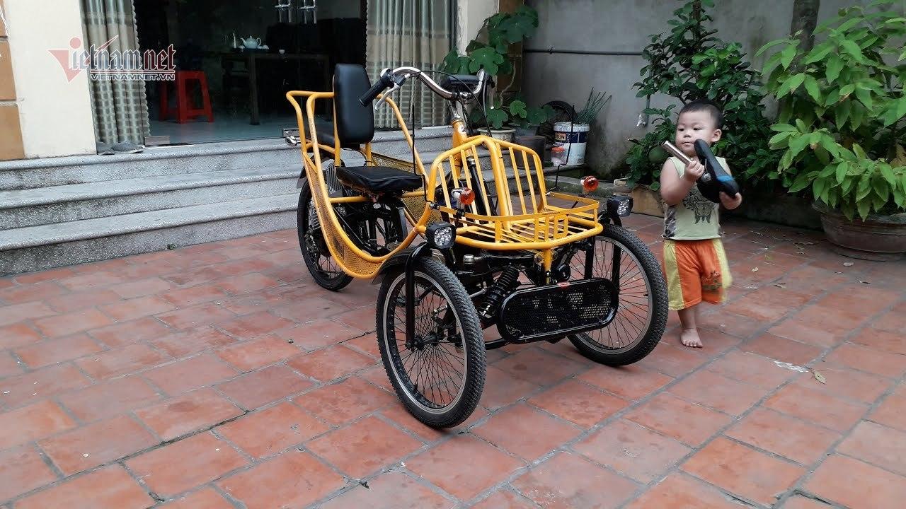 Độc đáo những chiếc xe 2 bánh chạy điện do dân chơi Việt tự chế