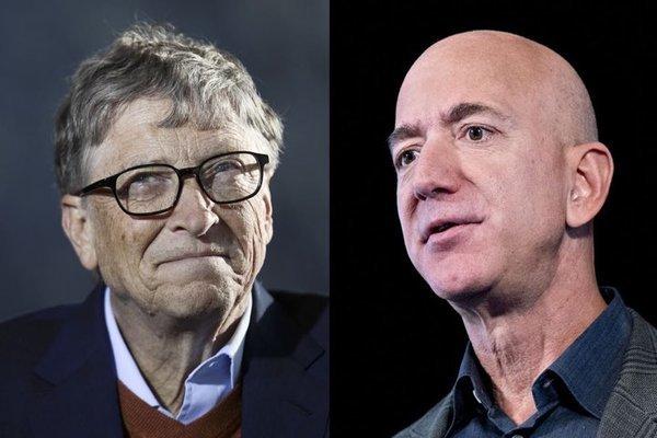 tỷ phú,Mỹ,Bill Gates,Jeff Bezos,giàu nhất thế giới