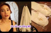'Chôm' dép của khách sạn tổ chức đám cưới Đông Nhi, Lan Ngọc nhắn cô dâu cứ trừ vào tiền mừng nếu bị bắt đền
