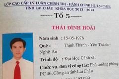 Thượng tá dùng bằng giả ở Lai Châu bị tước danh hiệu CAND
