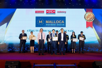 Malloca nhận danh hiệu Sản phẩm - dịch vụ Tin & Dùng 2019