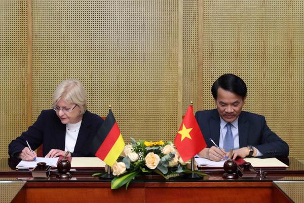 Việt-Đức đặt cơ sở cho Tăng trưởng Xanh