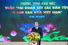 Thủ tướng: Truyền thống đại đoàn kết đã làm nên một sức mạnh vô bờ bến