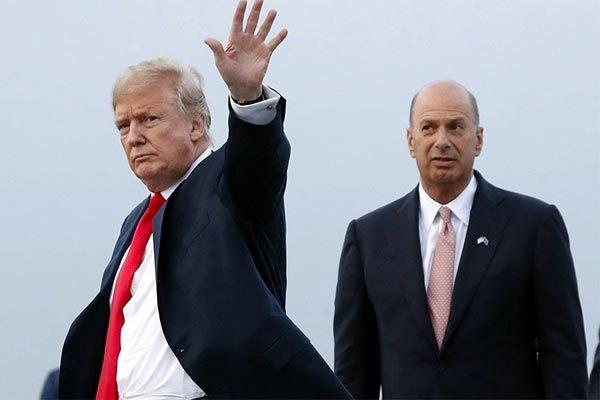 Mỹ,Hạ viện Mỹ,Donald Trump,luận tội tổng thống,Đại sứ Mỹ tại EU,điều trần