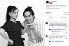 Cát Phượng khoe ảnh bên Kiều Minh Tuấn sau scandal tình ái