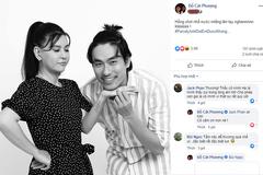 Cát Phượng khỏe ảnh bên Kiều Minh Tuấn sau scandal tình ái