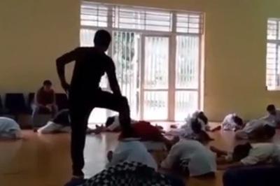 Thầy dạy võ đánh không thương tiếc học viên ở Vĩnh Phúc bị phạt 2,5 triệu