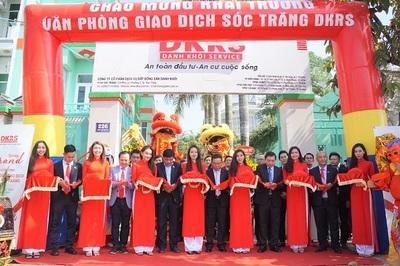 DKRS khai trương Văn phòng giao dịch Sóc Trăng