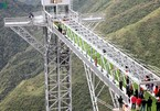 Rong May Glass Bridge tourism site opens in Lai Chau