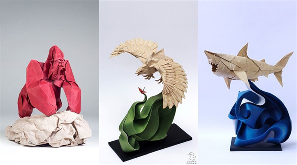 Vietnamese traditional paper,dó paper,origami work,origami contest