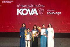 KOVA Prize for outstanding social work, research awarded