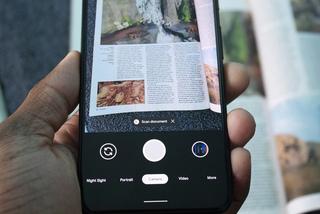 Cách scan tài liệu bằng ứng dụng Camera trên Google Pixel 4/Pixel 4 XL