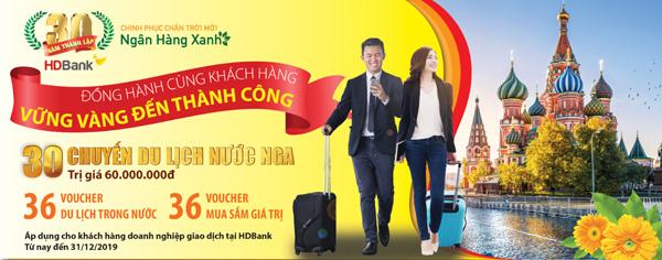 Du lịch miễn phí cùng HDBank, tại sao không?