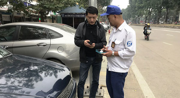 Hanoi,iParking service,expansion