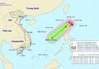 Typhoon Kalmaegi moves into the East Sea