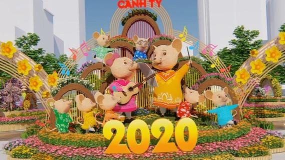 2020 Nguyen Hue Flower Street to open on January 22