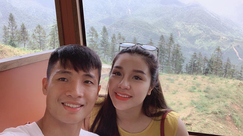 Nguyễn Khánh Linh,Tình yêu,Cầu thủ Bùi Tiến Dũng